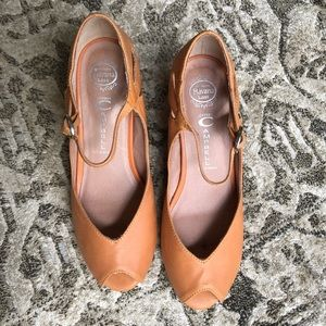 Jeffrey Campbell leather wedges